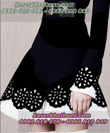 Cắt laser vải áo, vải váy đầm đẹp nhất