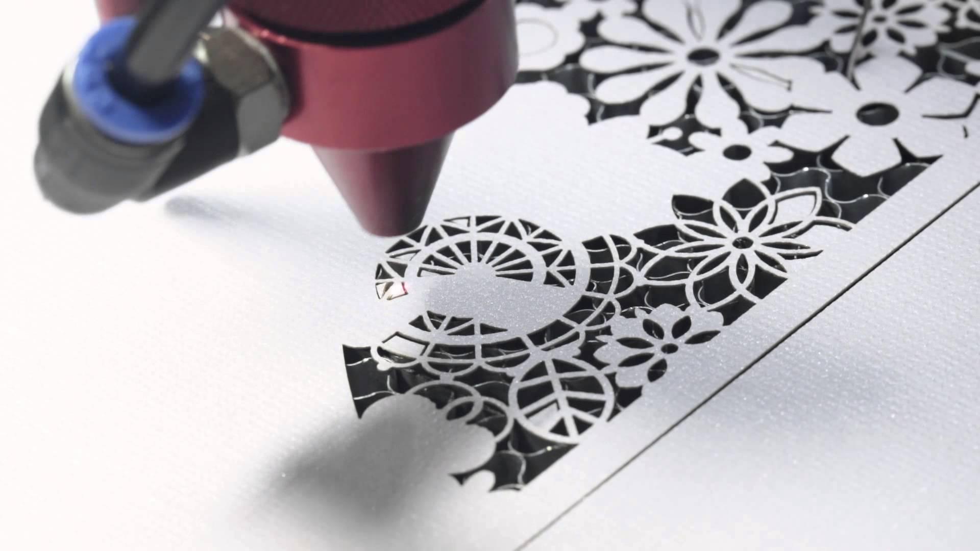 Công nghệ cắt laser trên giấy
