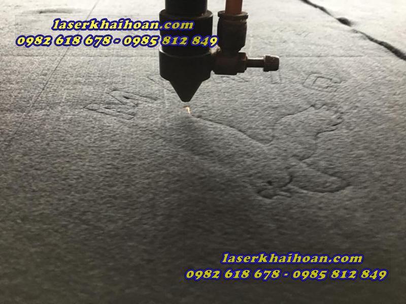 Công ty Laser Khải Hoàn chuyên cắt laser trên da trên similil