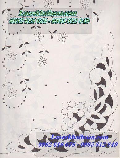 Cắt laser hoa văn vải làm khăn trải bàn