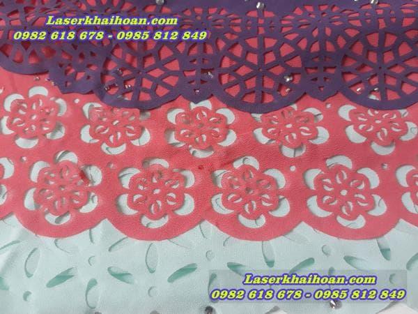 cắt laser trền vải giá rẻ và chất lượng