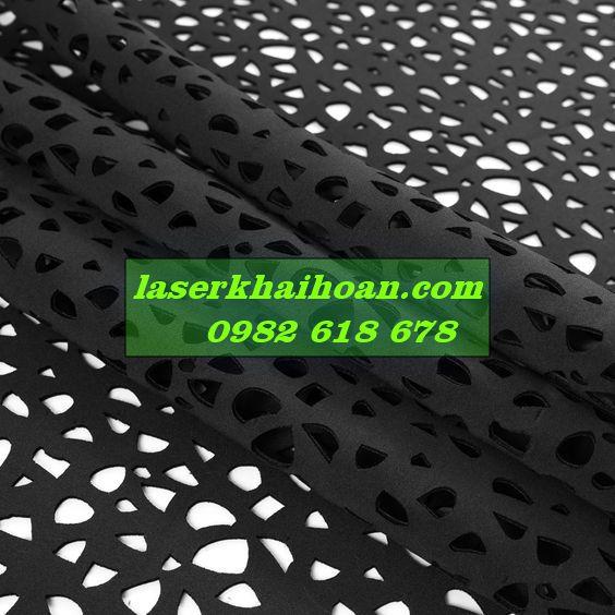 Cắt laser trên vải may áo giá tốt
