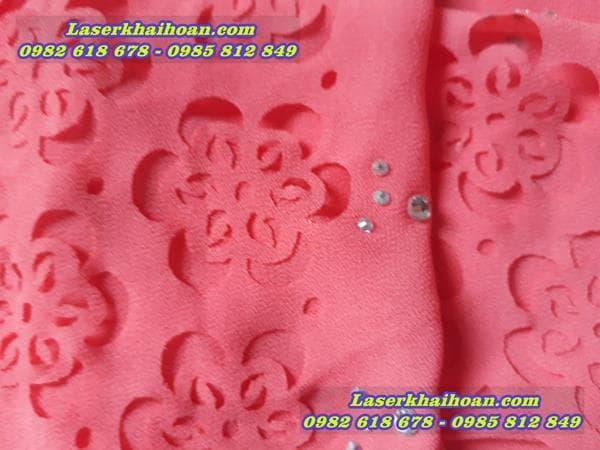 Cắt laser vải với giá rẻ, nét cắt đẹp, tinh tế
