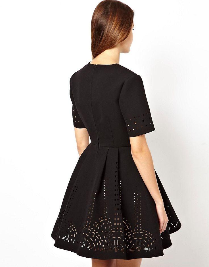 Cắt laser vải may váy đầm đẹp