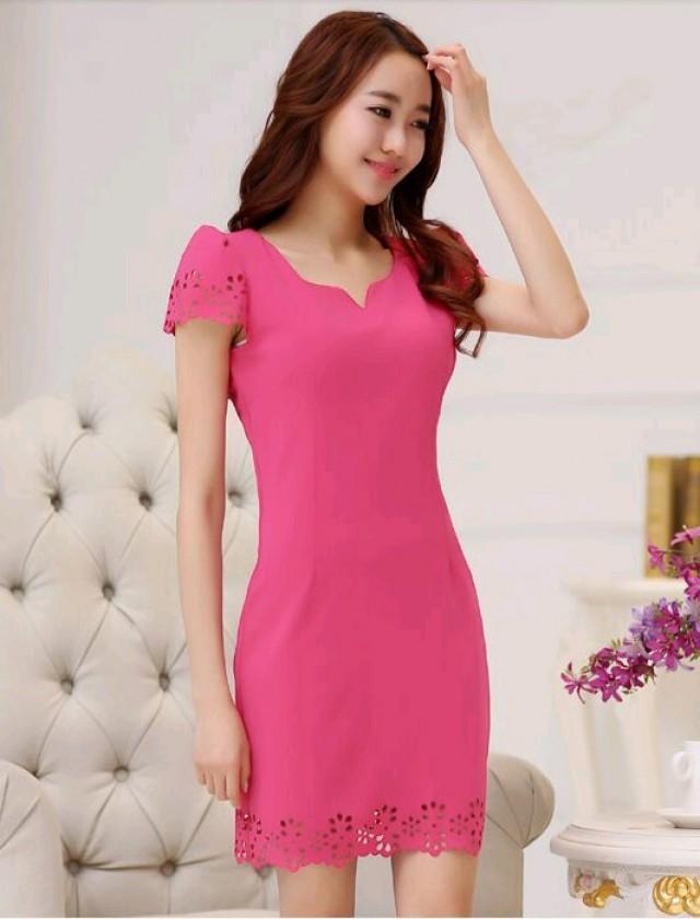 Cắt laser trên vải may váy đầm đẹp và chất lượng nhất