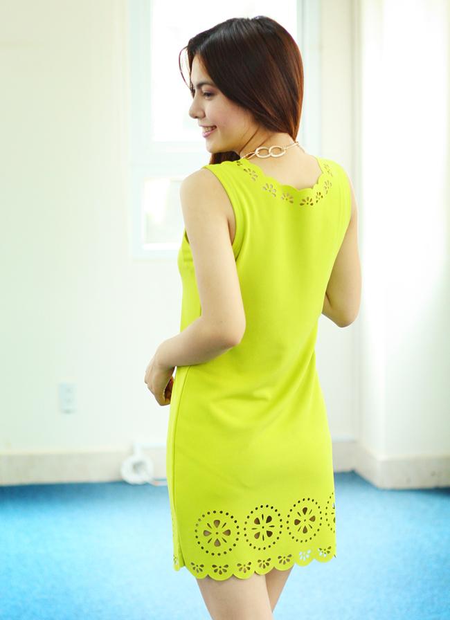 Cắt laser vải váy đầm đẹp tại TpHCM
