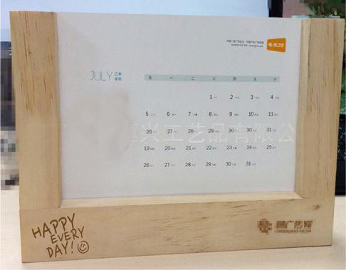Cắt laser đốc lịch gỗ, bìa lịch gỗ đẹp